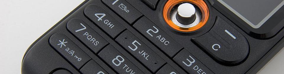 Tastatur eines Ericsson Handy