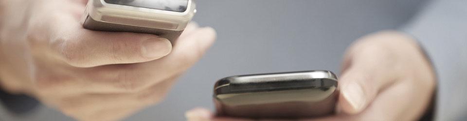 Datentransfer zwischen zwei Handys mit Bluetooth