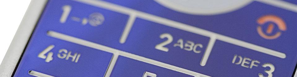 Tastatur eines Motorola Handy