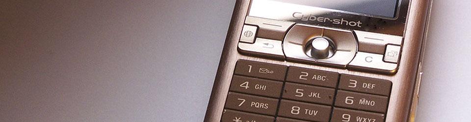 Abbildung eines Sony Ericsson Handys (Cyber-shot)