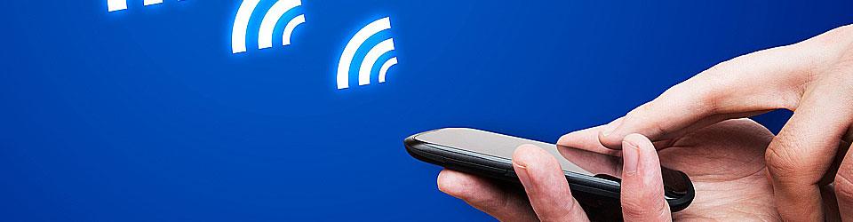 Handy Smartphone mit WiFi oder auch WLAN Technik